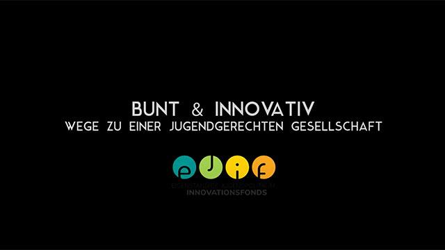 Logo des Videos Bunt & Innovativ.